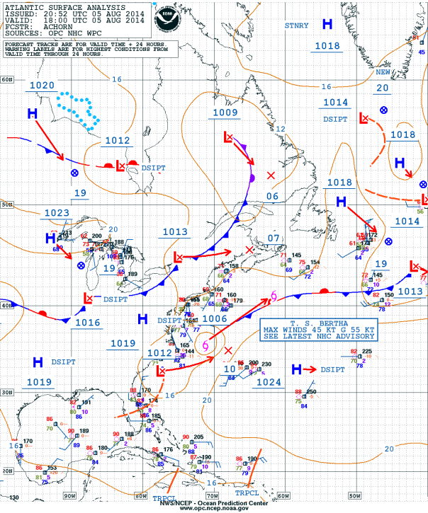 080514 Bertha Surface Analysis