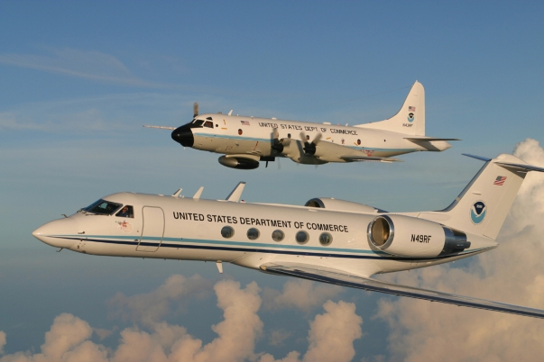 NOAA's Hurricane Hunters. Image courtesy NOAA.