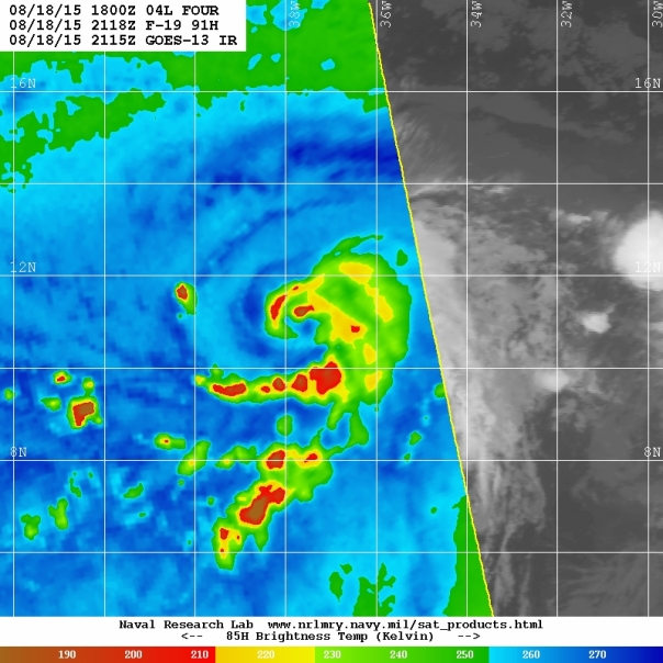 Microwave imagery from 21z/NRL