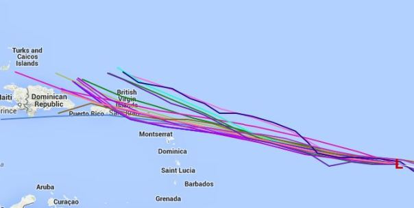 Selected 18z Models through 96 hours