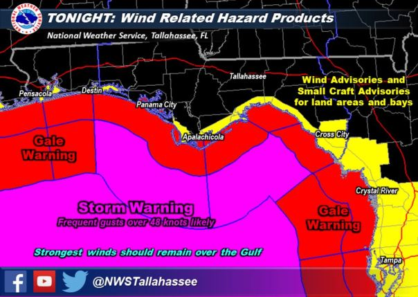 From NWS Tallahassee